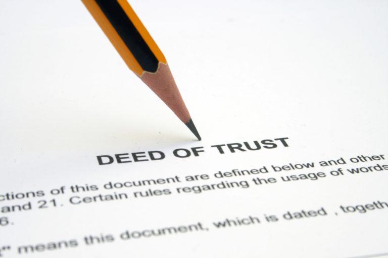 Deed In Trust
